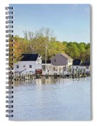 Rock Creek - Pano Spiral Notebook