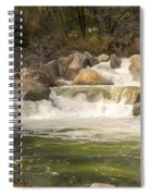 Rock Creek White Water Spiral Notebook