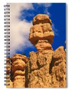 Rock Formations, Bryce National Park Spiral Notebook