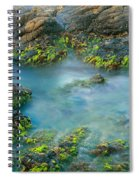 Rock Formations In The Sea, Bird Rock Spiral Notebook