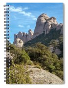 Rock Formations Montserrat Spain II Spiral Notebook