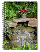 Rock Fountain IIi Spiral Notebook