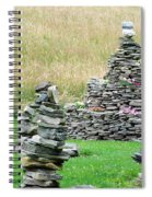 Rock Garden  Spiral Notebook