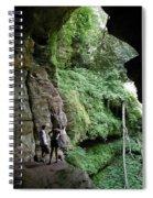 Rock House Overlook Spiral Notebook
