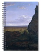 Rock In Montserrat Spiral Notebook