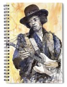 Rock Jimi Hendrix 02 Spiral Notebook
