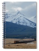 Rock Mountain Front- Train Spiral Notebook