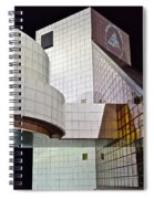 Rock Music Hall Of Fame Spiral Notebook