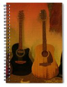 Rock N Roll Guitars Spiral Notebook