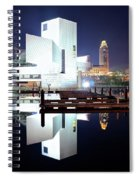 Rock N Roll Hall Of Fame Spiral Notebook