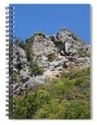 Rock On Tamalpais Spiral Notebook