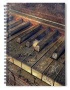 Rock Piano Fantasy Spiral Notebook