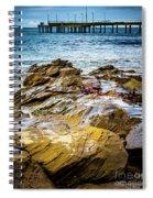 Rock Pier Spiral Notebook