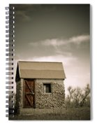 Rock Shed Spiral Notebook