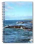 Rock Shore Spiral Notebook