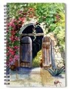 Rock Springs Gate Spiral Notebook