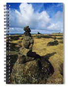 Rock Stacks Spiral Notebook