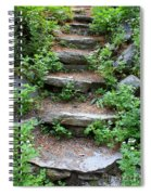 Rock Stairs Spiral Notebook