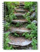 Rock Stairs Spiral Notebook