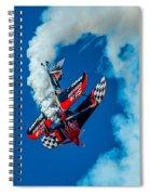 Rock Star Stunt Spiral Notebook