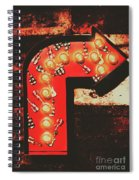 Rock Through This Way Spiral Notebook