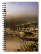 Rockaway Beach Dock 1 Spiral Notebook