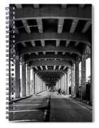 Rockaway Freeway, Queens New York Spiral Notebook