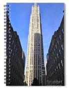 Rockefeller Center New York City Spiral Notebook
