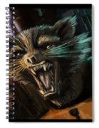 Rocket And Groot Spiral Notebook