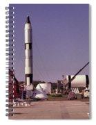 Rocket Garden Spiral Notebook