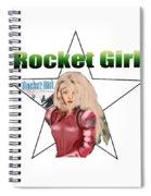 Rocket Girl Spiral Notebook