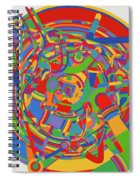 Rocket Spiral Notebook