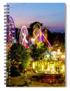 Rockford Carnival Spiral Notebook