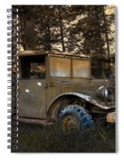 Rockies Transport Spiral Notebook