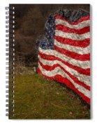 Rockin' The Flag Spiral Notebook