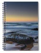 Rockin The Sunrise Seascape Spiral Notebook