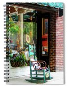 Rocking Chair By Boutique Spiral Notebook