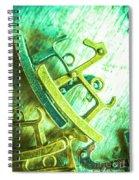 Rocking Horse Metal Toy Spiral Notebook