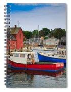 Rockport Harbor 2 Spiral Notebook