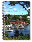 Rockport Harbor Spiral Notebook