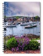 Rockport In Bloom Spiral Notebook