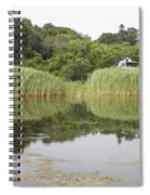 Rockport Reeds And Reflections Spiral Notebook