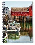 Rockport Sunrise Spiral Notebook