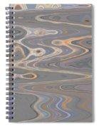 Rocks Along The Beach Spiral Notebook