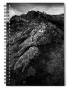 Rocks And Ben More Spiral Notebook