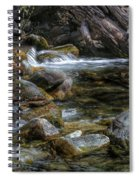 Rocks And Little Water Spiral Notebook