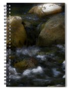 Rocks And Water Spiral Notebook