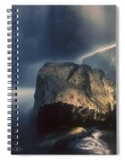 Rocks And Waterfalls Spiral Notebook