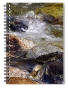 Rocks In A Stream 2a Spiral Notebook