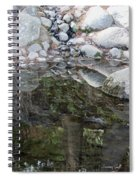 Rocks In Reflection Spiral Notebook